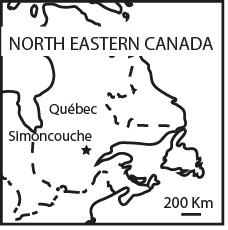 Location of the Mini-FACE facility at Simoncouche
